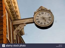 ornamental bracket clock in rochester kent bearing the coat of