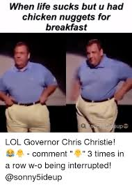 Chris Christie Memes - 25 best memes about governor chris christie governor chris