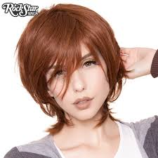 cosplay wigs usa boy cut long chestnut medium brown u2013 dolluxe