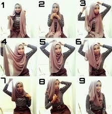 tutorial hijab pashmina tanpa dalaman ninja merangkai hijab pasmina menjadi kreasi hijab yang cantik dan