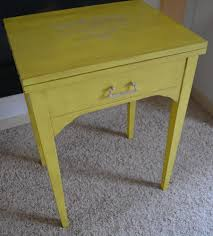 Yellow Accent Table Side Tables Archives B U0027s Refurnishings