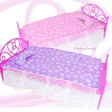 Plastic Bedroom Furniture by 2 Sets Plastic Bed Pillow For Barbie Doll Dollhouse Bedroom