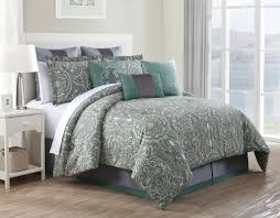 Tiger Comforter Set Bedroom Grey Flara Comforter Set By Kinglinen For Cozy Bedroom