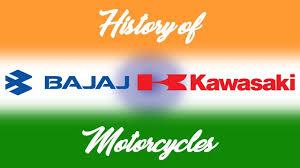the history of bajaj kawasaki motorcycles youtube