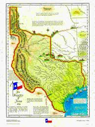 Mexican State Map by Historical Texas Maps Texana Series