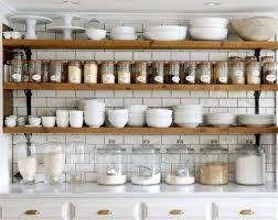 kitchen floating shelves fancy small white electric socket sleek