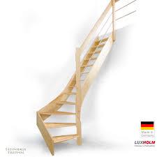 steinhaus treppen holztreppe luxholm in fichte treppenbreite 75 cm mit holz metall