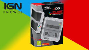 new 3ds xl black friday nintendo reveals super nintendo themed new 3ds xl ign news youtube