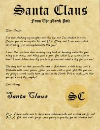 santa claus letters santa claus letters letters for santa claus santa claus letter