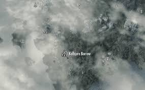 Barrows Map Kolbjorn Barrow Morrowind Image Gallery Hcpr