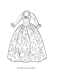 barbie fashion coloring pages eson