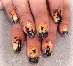 667 best halloween nail art images on pinterest halloween nail