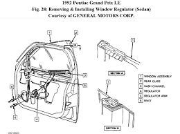 question on power window for 1992 pontiac grand prix le 3 1