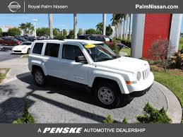 2012 jeep patriot gas mileage 2012 used jeep patriot fwd 4dr sport at royal palm nissan serving