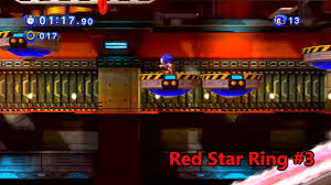 red star rings images Sonic generations chemical plant act 1 red rings jpg