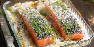 cuisine pavé de saumon gravlax de pavés saumon facile recette sur cuisine actuelle