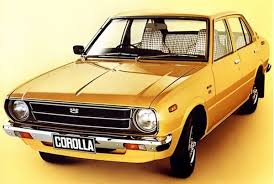 toyota corolla 1977 model toyota corolla 1975 the material which i can produce is