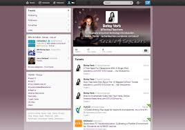 layout of twitter page twitter techie 4 teachers