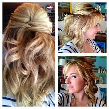 partial updos for medium length hair curly hair is still very popular choice for brides bridal hair
