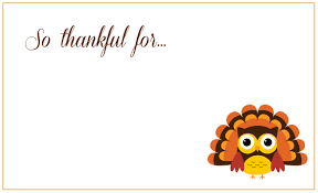 thanksgiving day cards free printable 2017 calendars