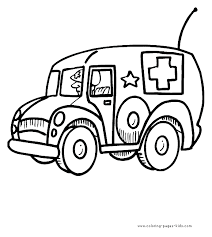 a for ambulance coloring page with handwriting practice ambulance