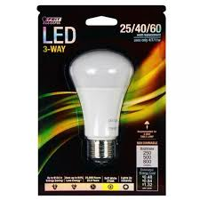 250 watt equivalent led light bulbs led 3 way three way light bulb 60 watt equal feit a25 60 led