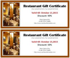 gift voucher samples 13 free sample restaurant voucher templates u2013 printable samples