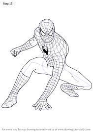 learn draw spiderman spiderman step step drawing