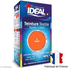 comment teindre un canapé en tissu teinture tissu idéal liquide orange 39 mini teinture coton creavea