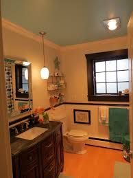 best paint for bathroom ceiling guest bathroom makeover before and after life on virginia street