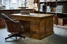 the grand partner u0027s plank desk by indigo furniture