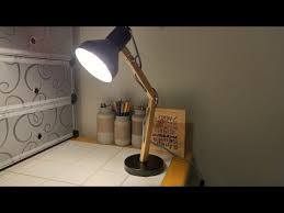tomons wood swing arm desk lamp designer table lamp youtube