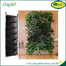 china black hanging vertical wall garden planter flower planting