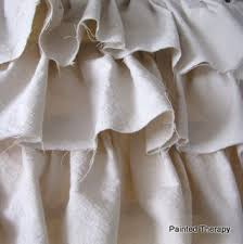 make your own ruffled curtains from painter u0027s drop cloths hometalk