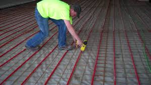 radiant floor heat installation pexgun com
