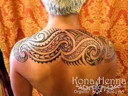 kona henna studio polynesian tribal back by konacolorkitten