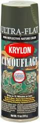 krylon k04293000 camouflage with fusion for plastic paint