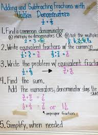 best 25 add and subtract fractions ideas on pinterest add