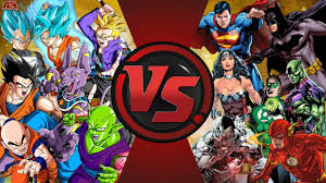 fighters justice league total war dragon ball dc