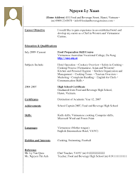 Resume Samples Net by Magnificent High Student Resume With No Work Experience