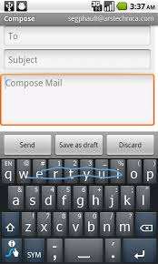android swype keyboard on swype keyboard for android is sweeptastic ars technica