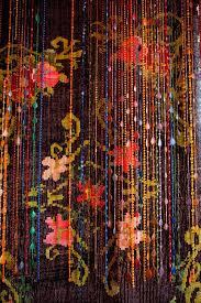 Hippie Drapes Bohemian Beaded Curtains Blue Beads Curtain Amazing Bohemian