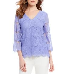 periwinkle blouse and york s casual dressy blouses dillards