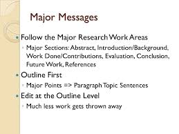 preparing a research paper writing a research paper for publication acm format guide for