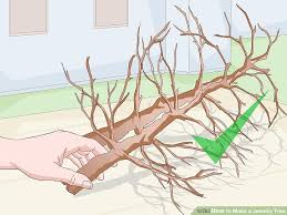 3 ways to make a jewelry tree wikihow
