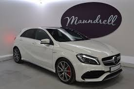 mercedes a45 mercedes a class a45 amg amg a45 4matic one owner pan roof