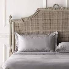 vintage shabby hand carved gilt wood cane queen bed floral basket