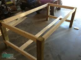 Kitchen Table Building Plans by Charming How To Make Your Own Kitchen Table Including Build Rustic