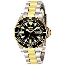 invicta with day and date