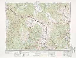 Montana Maps Butte Topographic Maps Mt Usgs Topo Quad 46112a1 At 1 250 000 Scale